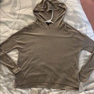 Hooded t-shirt top- forever 21